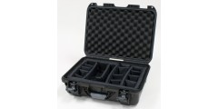 Waterproof case w/ divider system - 17x11.8x6.4