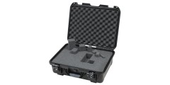 Waterproof case w/ diced foam - 18x13x6.9