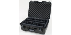 Waterproof case w/divider system - 20x14x8