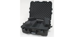 Waterproof case w/ diced foam - 22x17x8.2