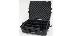 Waterproof case w/ divider system - 22x17x8.2
