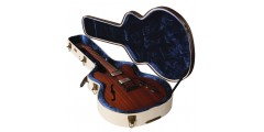 Journeyman Semi-Hollow Electrics Deluxe Wood Case