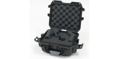 Waterproof case w/ diced foam - 8.4x6x3.7