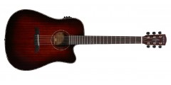 Alvarez  MDA66CESHB  Acoustic  Electric  Guitar  Shadowburst  Finish  with