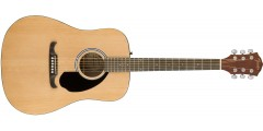 Fender FA-125 Dreadnought in Natural with Rosewood Fretboard With Gigbag