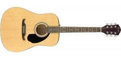 Fender FA-125 Dreadnought with Bag in Natural with Walnut Fretboard..