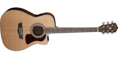 Demo-Washburn HF11SCE-O Heritage Folk Cutaway electric Solid Cedar top