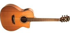 Demo - Washburn WLG110SWCEK-D Woodline Solid Cedar Top Mahogany