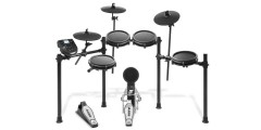 Alesis Nitro Mesh Kit 8 piece Compact Drum Kit with 300+ Sounds Kick Pedal and Drum Rack