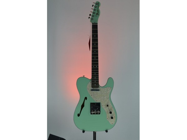 FSR Two-Tone Telecaster Thinline Electric Guitar Sea Foam Green Serial #US19101196 6.2lbs
