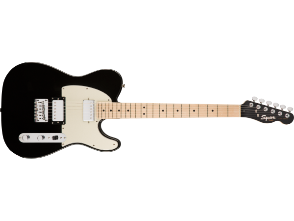 Squier by Fender Contemporary Telecaster HH Maple Fingerboard Black Metallic