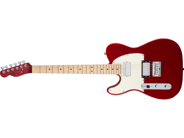 Fender Squier Contemporary Telecaster HH Left Handed Maple Fingerboard Dark Metallic Red