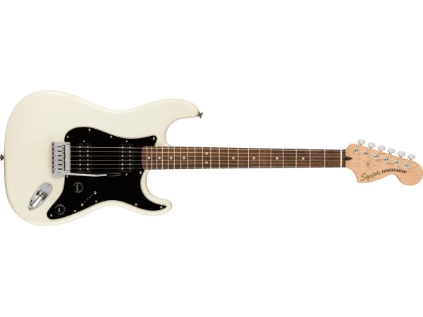 Squier by Fender Affinity Stratocaster Electric Guitar HH Olympic White