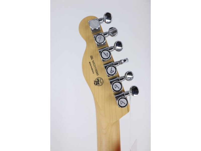 Fender Deluxe Telecaster Thinline Maple Fingerboard Candy Apple Red SER #MX21110343
