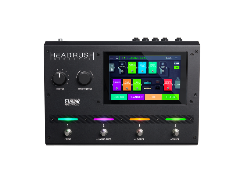 HeadRush Gigboard Guitar Multi Effects Processor with Touch Display