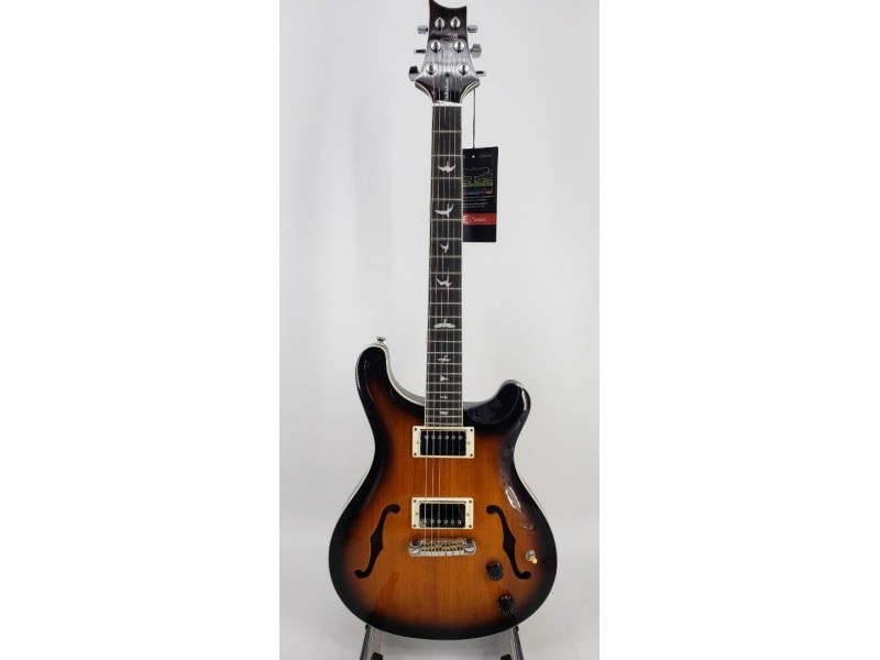 Paul Reed Smith PRS SE Hollow Body Standard Electric Guitar McCarty Tobacco Sunburst with Gigbag