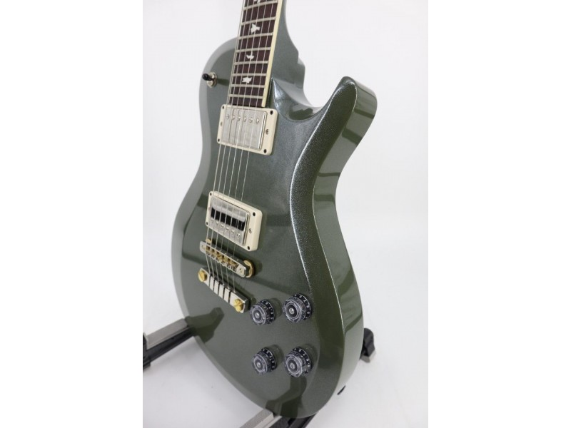 Paul Reed Smith PRS S2 McCarty 594 Single Cut Custom Color Army Green Ser#S2046594