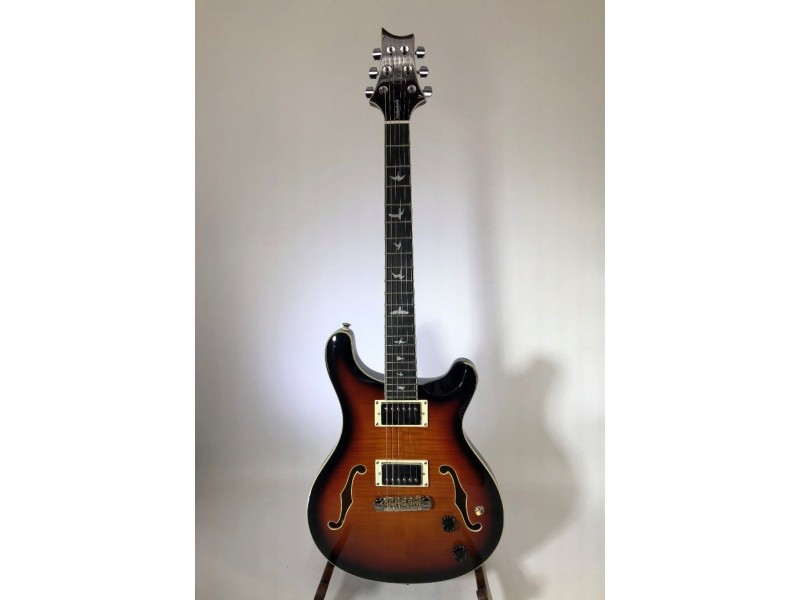 Paul Reed Smith PRS SE Hollowbody II Electric Guitar Tri Color Burst
