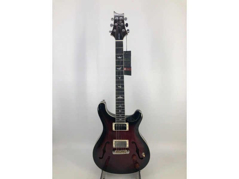 Paul Reed Smith PRS SE Hollow Body Standard Electric Guitar Fire Red Burst with Hardcase