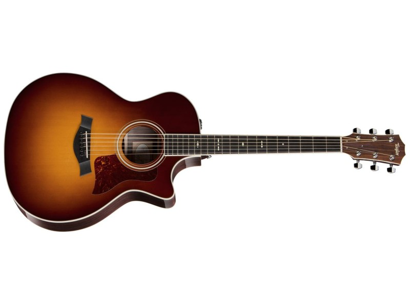 Taylor 714CE Grand Auditorium Acoustic Electric Cutaway Guitar with Hardshell Case
