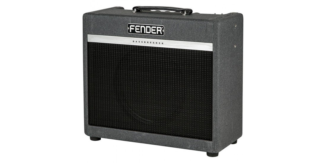 world music supply fender bassbreaker 15 120v guitar combo amplfier. Black Bedroom Furniture Sets. Home Design Ideas