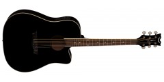 Dean AXS Dreadnought Cutaway Acoustic Electric - Classic Black - B Stock