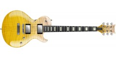 DBZ Diamond BOLSTP15-LSR Bolero Electric Guitar Flame Maple top Lemon Sunri