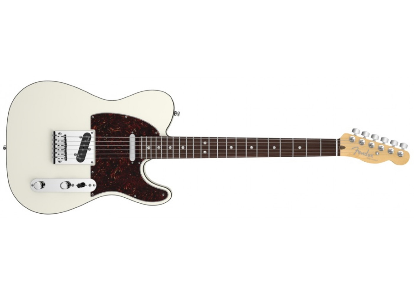 Fender American Deluxe Telecaster Electric Guitar Olympic ...