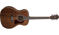 Washburn HG12S Heritage Series Grand Auditorium Solid Mahogany Top Natural Gloss