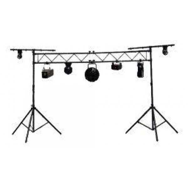 american dj lts50t light truss system w 10 foot truss and stands. Black Bedroom Furniture Sets. Home Design Ideas