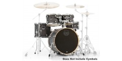 Mapex MA504SFBGW 5 Piece Mars Fusion Shell Pack Smokewood Black Hardware