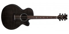 Dean PE-UFM-TBK Performer Ultra Acoustic Electric Flamed Ash Top Aphex Aura