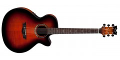 Dean PE-UFM-TGE Performer Ultra Acoustic Electric Flamed Ash Top Aphex Aura