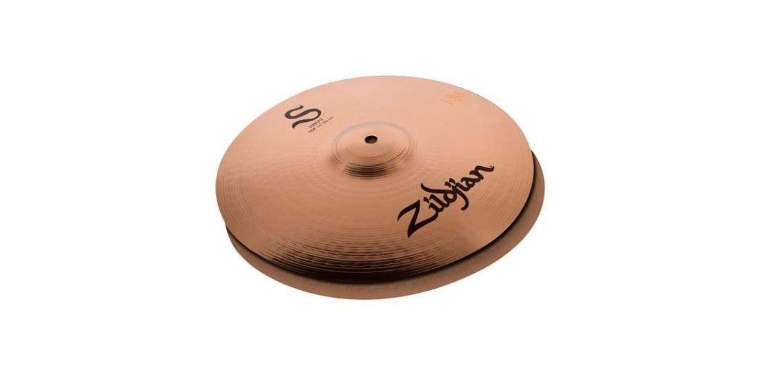Zildjian S14MPR 14 Inch S Series Mastersound Hi Hat Cymbal Set Pair