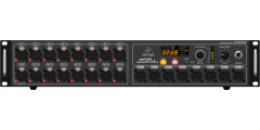Behringer S16 DIGITAL SNAKE I/O Box with 16 R/C Mic Line Inputs AES50 Netwo