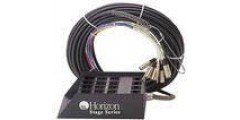 Horizon Snake 100 Foot 32X8 Lifetime Warranty with 8 XLR Returns