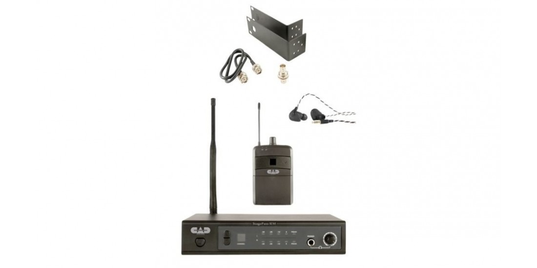 CAD Audio Stagepass IEM UHF 16 Channel Wireless In Ear Monitor