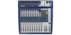 Soundcraft Signature 12 Mixing Console Built In Lexicon Effects