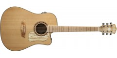Washburn WCSD40SCEK Solid Sitka Spruce Top Spalted..