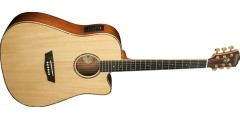 Washburn WD55SCE Dreadnought Electric Acoustic Guitar