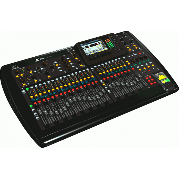 behringer x32 32 channel motorized fader mixer console