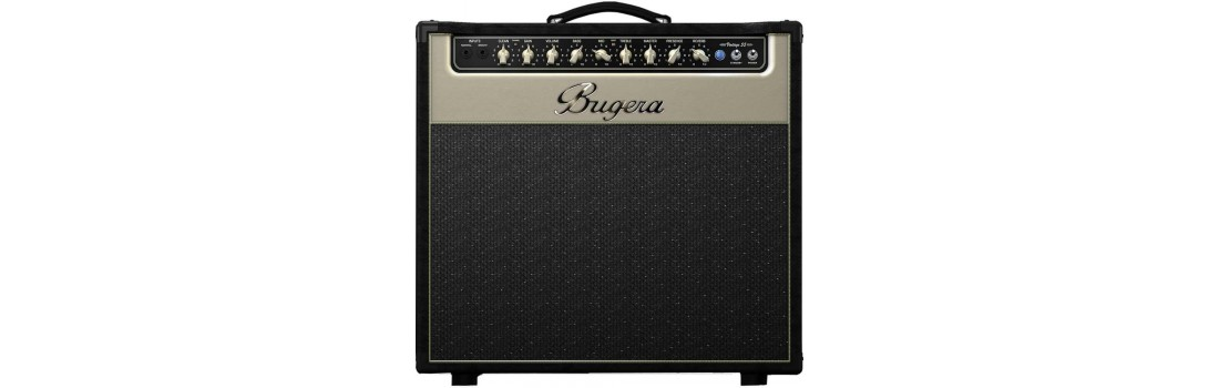 Bugera v55 infinium 2 channel tube electric guitar amplifier with