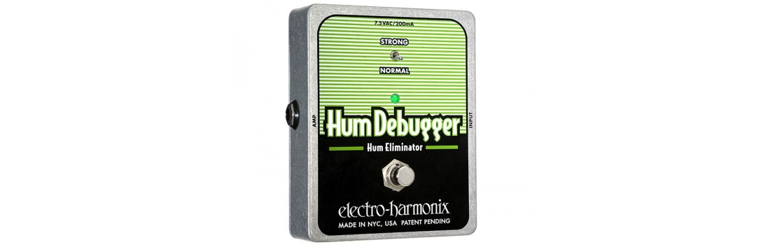 Hum cancelling pedal