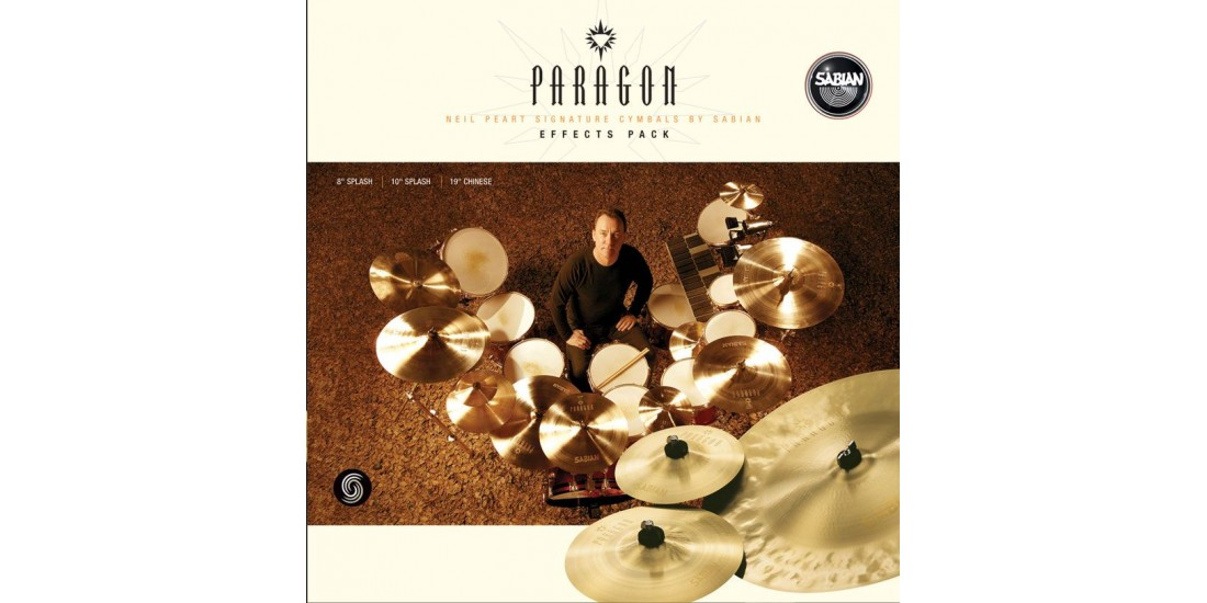 Sabian Paragon Neil Peart Effects Cymbal Pack