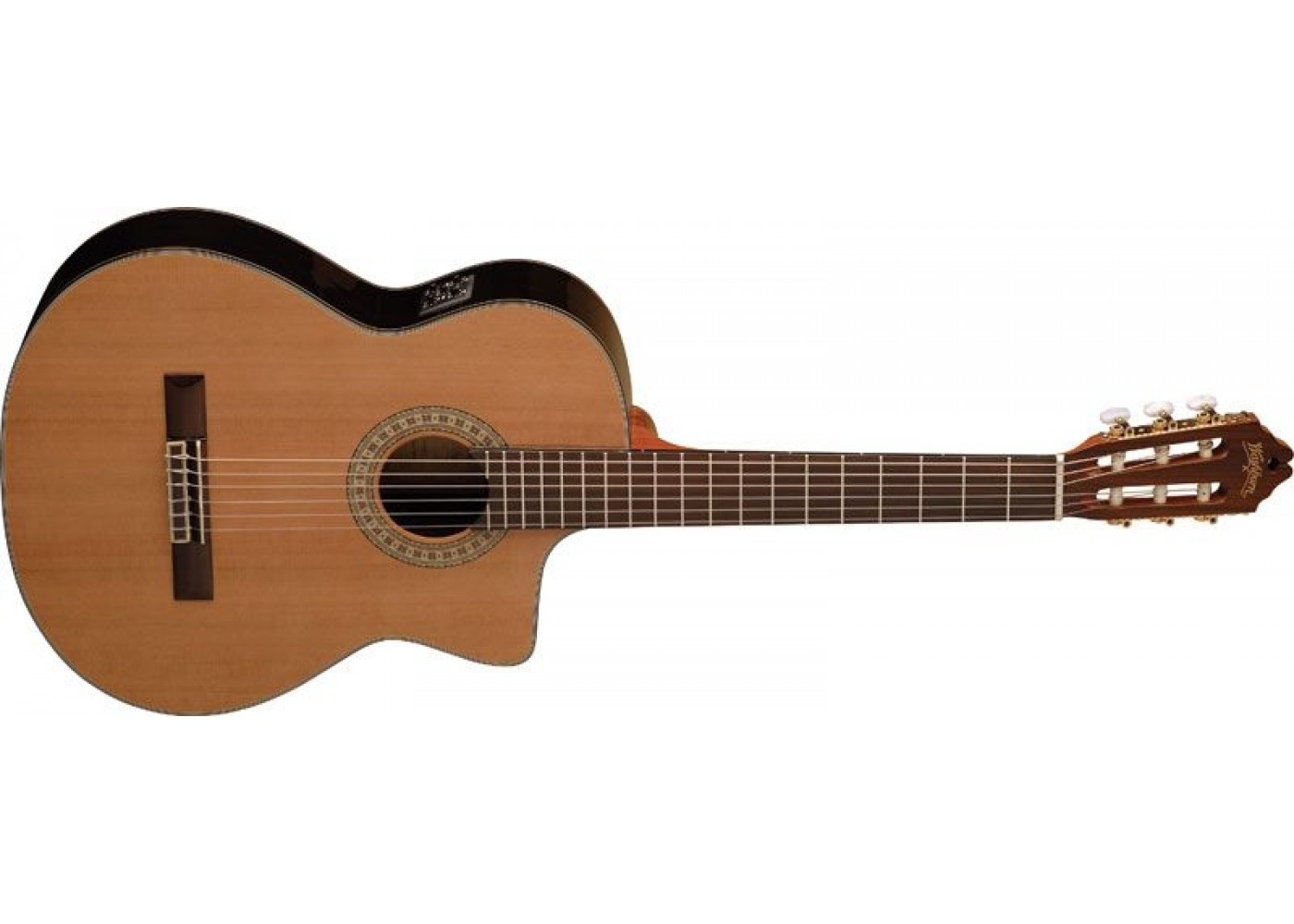 washburn c104sce acoustic electric classical guitar. Black Bedroom Furniture Sets. Home Design Ideas