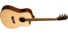 Washburn WCD18CE Dreadnought Electric Acoustic Guitar