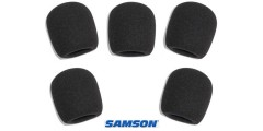 Samson WS1 Microphone Wind Screen Pop Filter 5 Pack