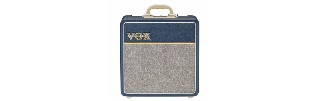 VOX AC4C1BL Blue Tygon Custom Series Tube Guitar Amp