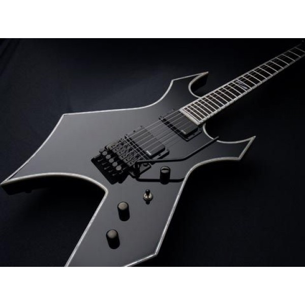 Bc Rich Warlock Nj Deluxe Onyx Black Electric Guitar