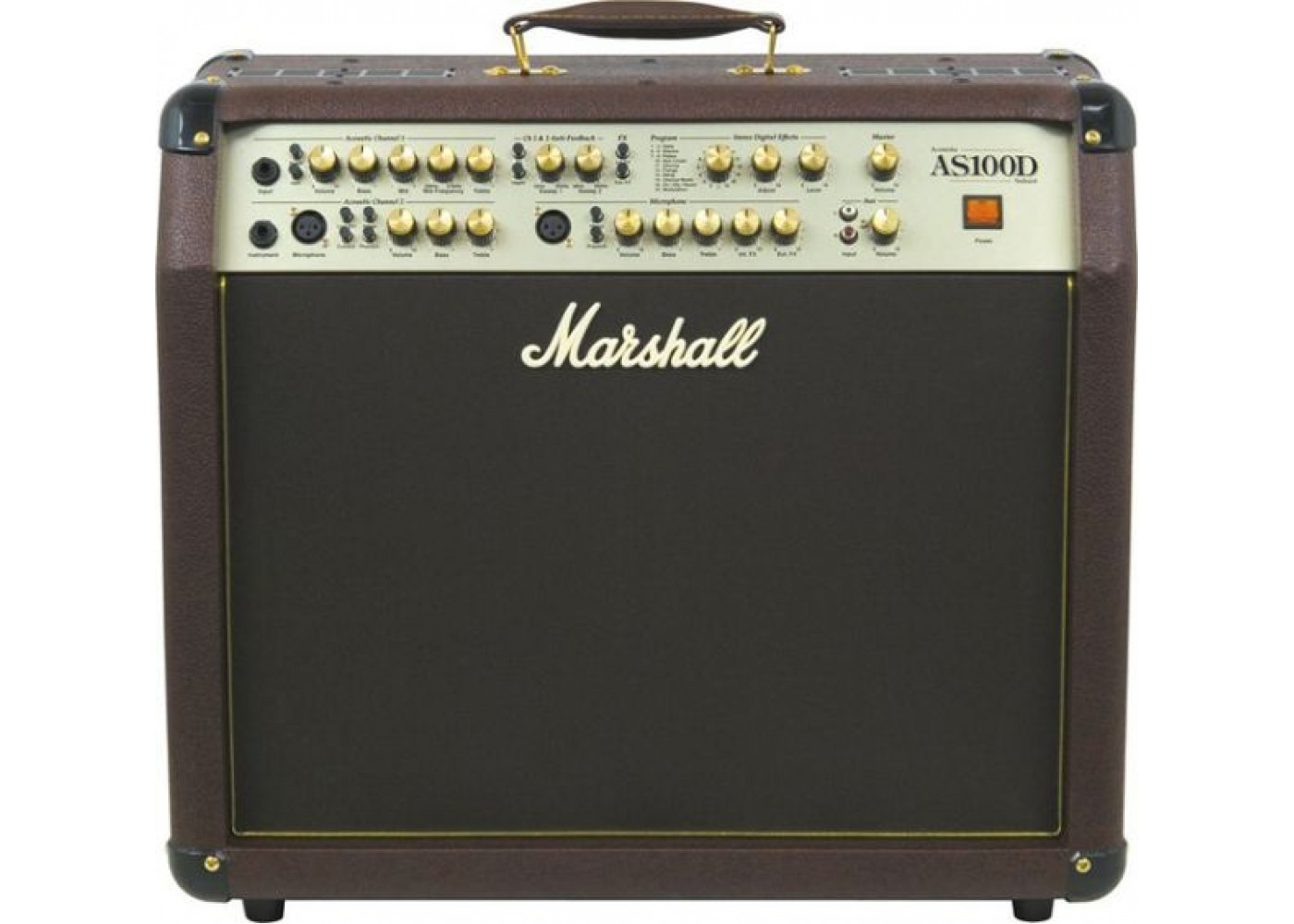 marshall as100d 2 channel acoustic guitar amplifier with effects. Black Bedroom Furniture Sets. Home Design Ideas